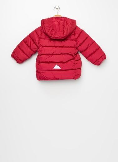 Name It Name It 13167532B %100 Polyester Koyu Kız Çocuk Kapüşonlu Şişme Kaban Kırmızı